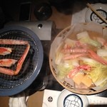 35961275 - 二種のカニ鍋(コース)