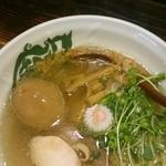 G麺7 - 塩ラーメン味玉・880円