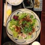 どんどこ湯 レストラン - 540円ランチ