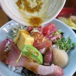初島 - 2015.3海鮮丼とぶりカマ