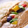 こぶみかん - 料理写真:ココナッツカレー 季節の野菜を添えて