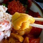 長谷川食堂 - 鮮度の良いウニ!