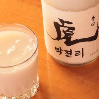【生マッコリ】無添加・無加熱・無加糖の韓国料理のお共に最適!
