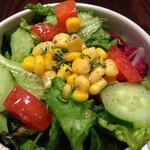 ブレッツ カフェ クレープリー - サラダ