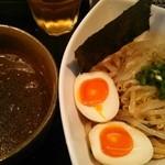きじ亭 - 味玉和風つけ麺、煮干味。700円。