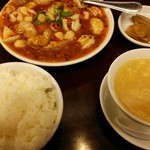 35974454 - 海鮮山椒辛子水煮ランチ