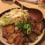 とん彩や 福島店 - 照り焼き豚丼