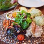 トラットリア・築地パラディーゾ - 本日の前菜盛り合わせ