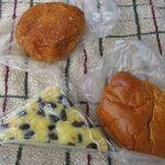 35976668 - カレーパン、クリームパン、水無月パン(2009.06)