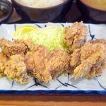吟くら - (ランチ)鶏からあげ定食 ¥650