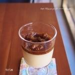 trim - 豆乳プリン