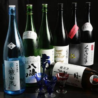 入手困難な日本酒等をリーズナブルにご提供致しております。
