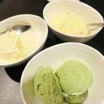焼肉 夜桜 - アイスクリーム☆入れ忘れ。