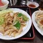 天下一 - ヤキニク定食、土曜日は750円