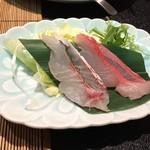 かね吉 一燈庵 - 【夕食】金目鯛のしゃぶしゃぶ
