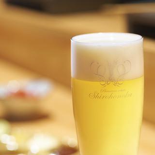 活きたビール白穂乃香。