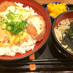 丼丼亭 - サービスセット650円  ご飯大盛り+80円