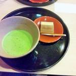 喫茶かんばやし - お茶セット