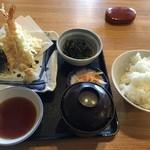 魚昇 - 天ぷら定食(920円)