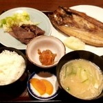 35988829 - 焼き魚定食 開きほっけ @750円