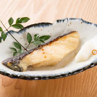 銀タラの酒粕西京味噌漬焼き