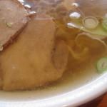つるつるかめや - 澄んだスープ。                 27.3.16