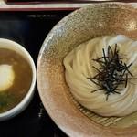 荒木伝次郎 - 牡蠣のカレーつけ麺
