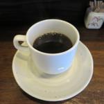 籠 - サービスのコーヒー
