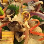 蓬左茶寮 - 料理写真:鳥貝の造り
