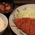 百年亭 - 盛り合せ定食