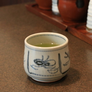 百年亭 - 料理写真:お茶