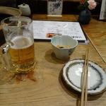 Kitayoshi - 穴子待ちのビール