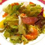 ピエールピコKAWAGUCHI - 魚介類のサラダ和風仕立て