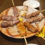 博多屋 - 串焼きのBセット(8本盛り)