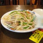 博多屋 - レバニラ炒め