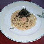 3600757 - タラコと香味野菜のパスタ
