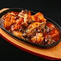 健康中華庵 青蓮 - 広島産牡蠣の鉄板焼 \980