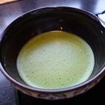 漆の実 - 抹茶セットの抹茶