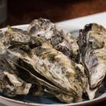 ひなせ - 牡蠣の酒蒸し