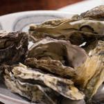 ひなせ - 牡蠣の酒蒸し1