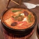 八煌苑 - 豆腐チゲ