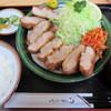 とんかつとことん - 料理写真:特上ヒレかつ定食 1800円