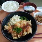 西洋フード - 揚げ鶏のネギソース