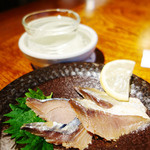 地魚料理 まるさん屋 - へしこと日本酒の最強タッグ