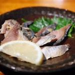 地魚料理 まるさん屋 - へしこ