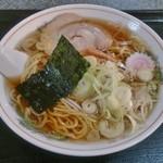 ラーメン松月 - ラーメン 550円(クーポン利用で450円)