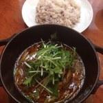 ビービーキューホッカイドウ - トロッと豚の角煮スープカレー