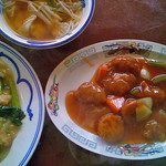 塩屋一貫楼 - 料理写真:スブタ定食