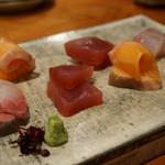 創作和食 くらしこ - お造り盛合わせ3種(980円)