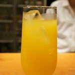 創作和食 くらしこ - マンゴーオレンジ(480円)